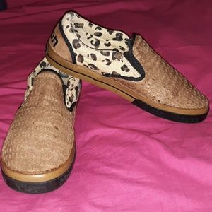 Kitson Los Angeles Shoes Leopard Loafers Sneakers